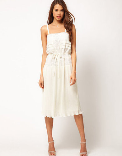 The perfect Summer LWD — need we say more?  ASOS Slip Dress With Lace ($91)