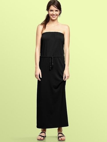 Functional and easy to style up with any great accessories, this dress is like a great blank canvas.  Gap Strapless Maxi Dress ($70)