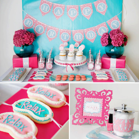Girl Spa Party