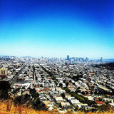 The Top of Bernal Hill
