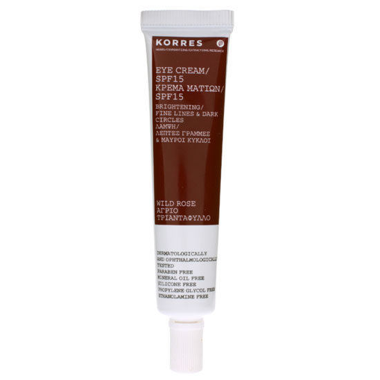 Korres Wild Rose Eye Cream SPF 15, $30.99