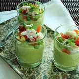 Chilled Avocado and Corn Soup Recipe