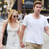 Miley Cyrus and Liam Hemsworth at Capital Grille | Pictures