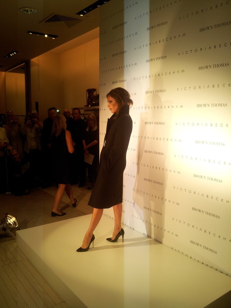 Victoria Beckham at Brown Thomas. Source: Twitter user BrownThomas