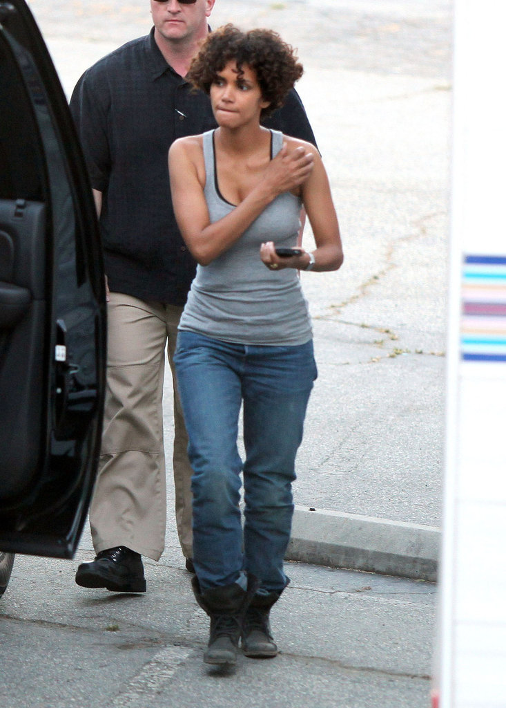 Halle Berry Hospitalized After an On-Set Injury