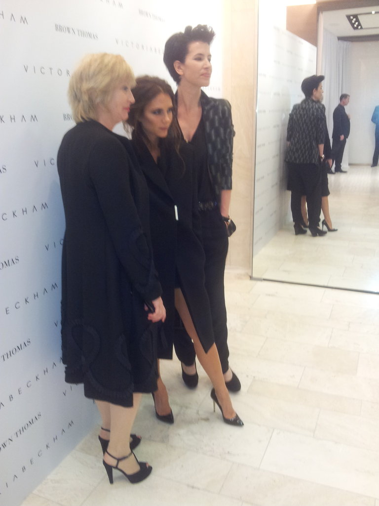 Victoria Beckham struck a pose in Dublin.  Source: Twitter user BrownThomas