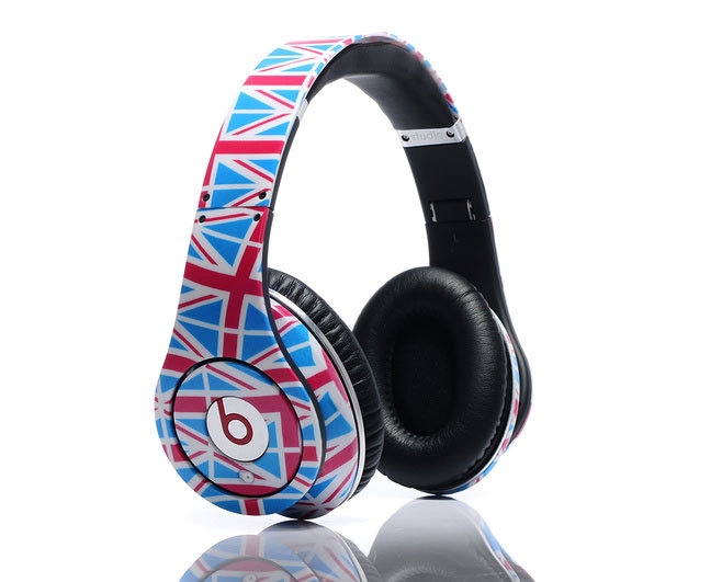 Limited Edition British Flag Olympic Headphones ($199, originally $600)