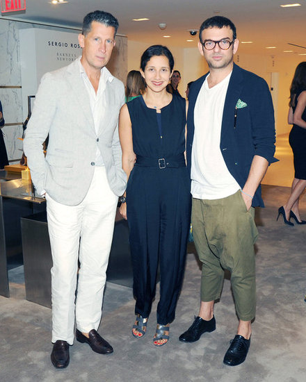 Stefano Tonchi, Karla Martinez, and Francesco Russo