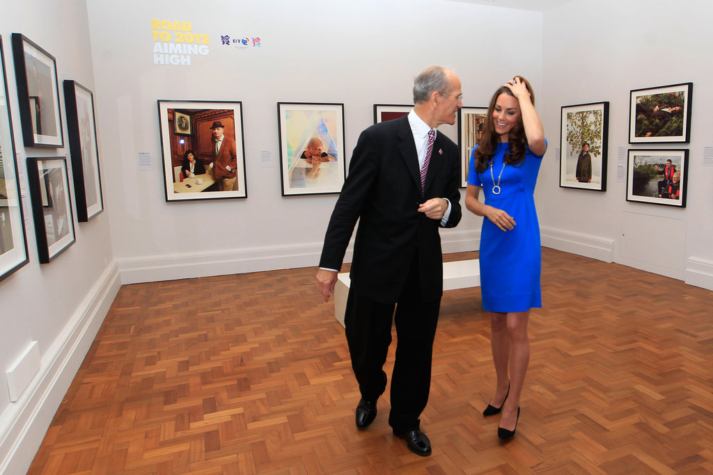 Catherine, Duchess of Cambridge, went to the National Portrait Gallery.