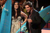 Megan Fox and Robert Pattinson shared the stage in 2009 at the Teen Choice Awards.