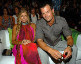 Fergie and Josh Duhamel, 2008