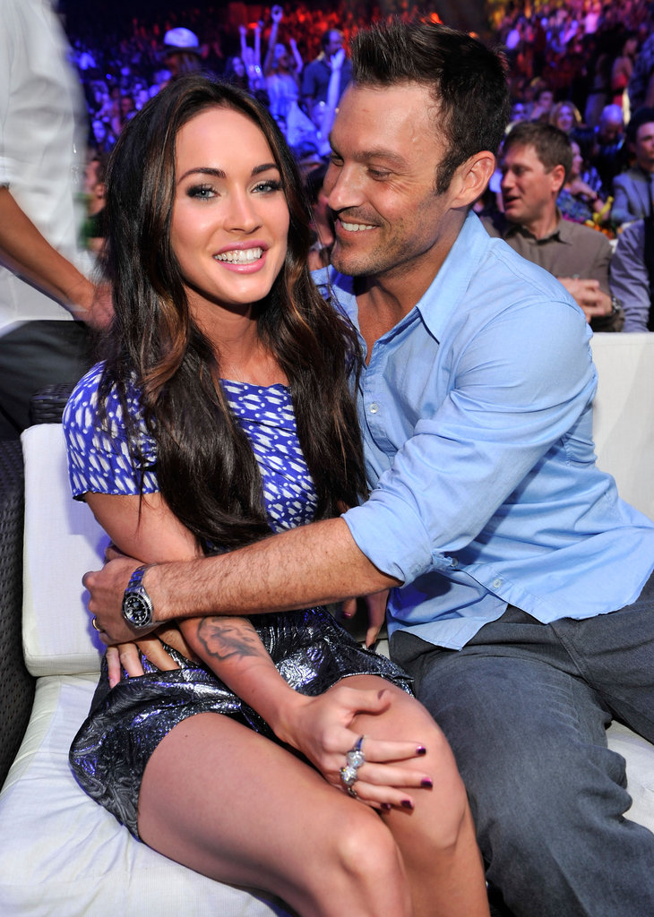 Megan Fox and Brian Austin Green, 2010