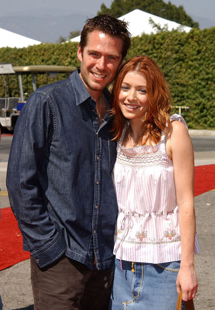 Alexis Denisof and Alyson Hannigan, 2002