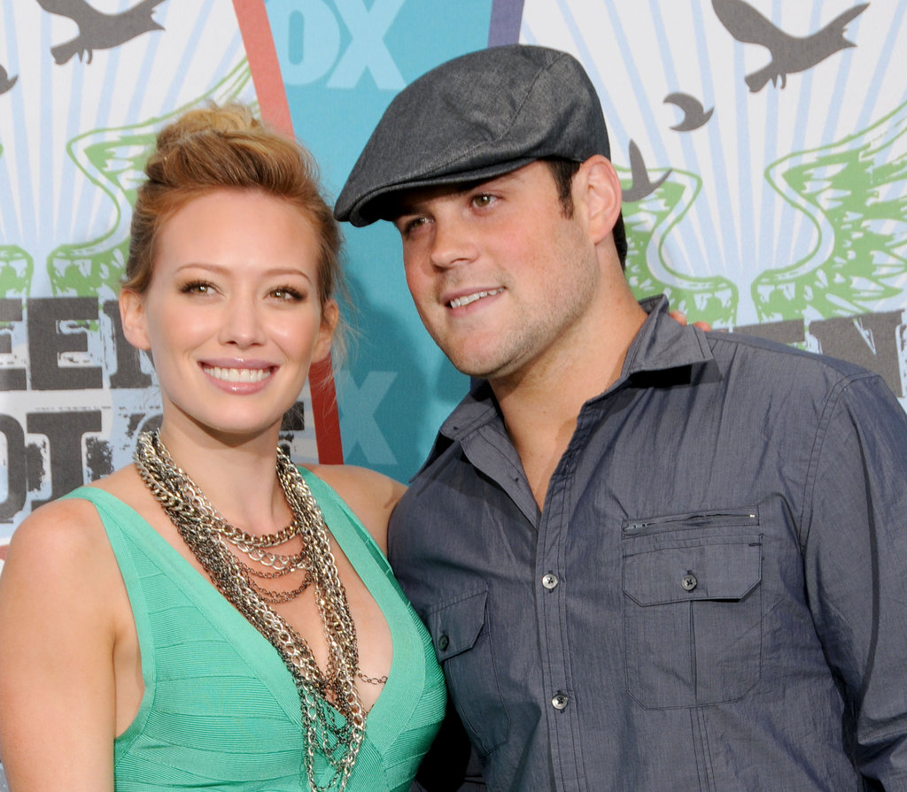 Hilary Duff and Mike Comrie, 2010