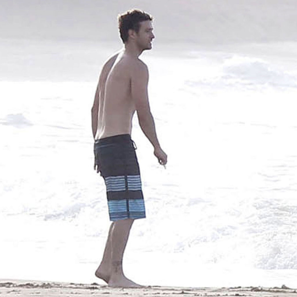 Justin Timberlake enjoyed some outdoor fun with Jessica Biel.
