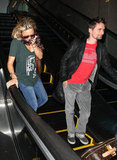 Kate Hudson and Matthew Bellamy Prep For His Olympic Debut