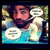 Adrian Grenier used Instagram to send a message to his fans. Source: Instagram user adriangrenier