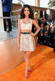 For the Kids' Choice Awards in 2012, Selena bared her legs and her midriff in a sexy Dolce & Gabbana number.