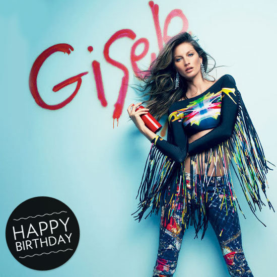 Gisele turned 32 on Friday. We're celebrating the world's most successful supermodel with 111 of her most memorable fashion editorials yet.