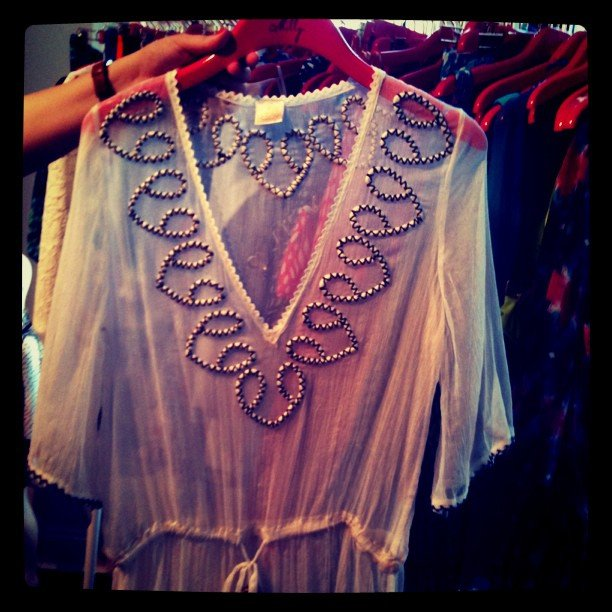 How perfect is this Summer tunic from Milly?