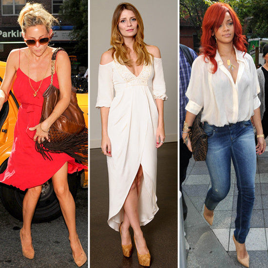 These celebs make a case for the awesome style power of cork pumps.