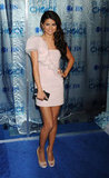 Selena looked sweet and sugary in a pale pink Paule Ka mini at the 2011 People's Choice Awards.