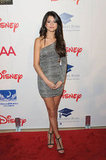Selena stunned us all by stepping out in an affordable Forever 21 one-shoulder minidress at an event in 2011.