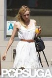 Diane Kruger and Joshua Jackson Match Their Summery Whites