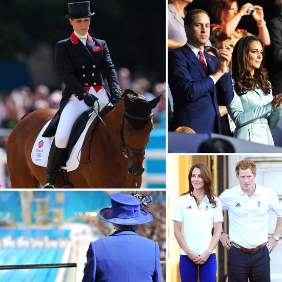 The Royal Family Joins in the Olympic Fun — See All the Pics!