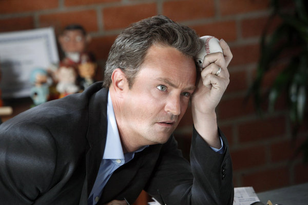 Matthew Perry in Go On.