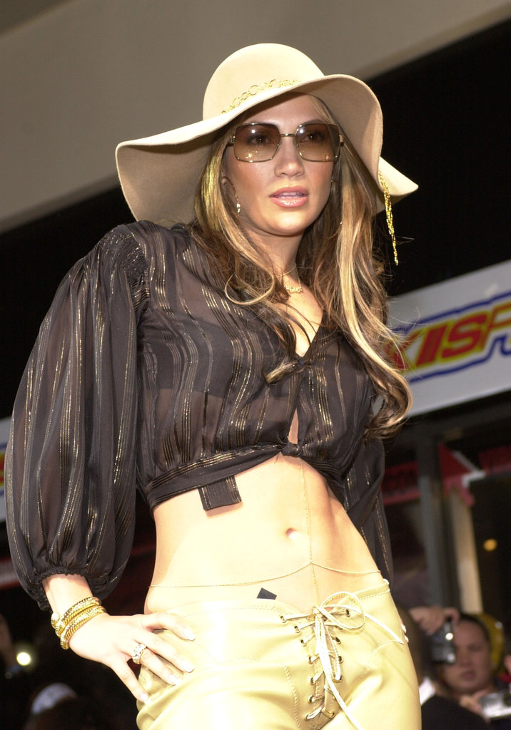 Jennifer Lopez made an appearance at an LA Virgin Megastore in January 2001.
