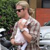 Chris Hemsworth in LA With His Family | Pictures
