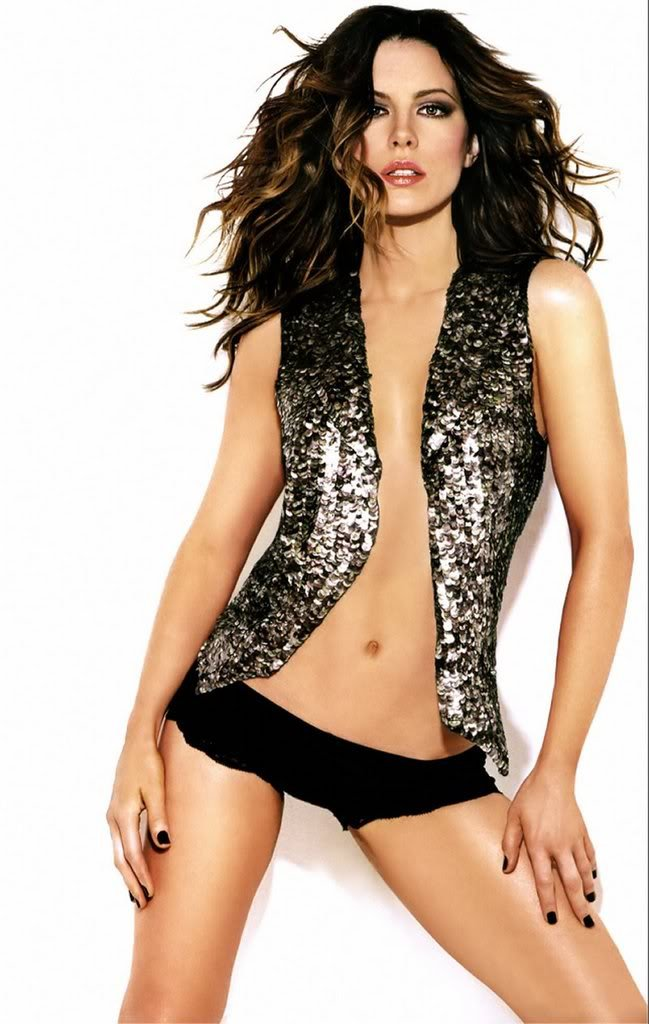 Kate Beckinsale struck a pose for GQ's Feb. 26 issue.