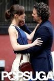 Keira Knightley and Mark Ruffalo filmed a scene together in NYC.