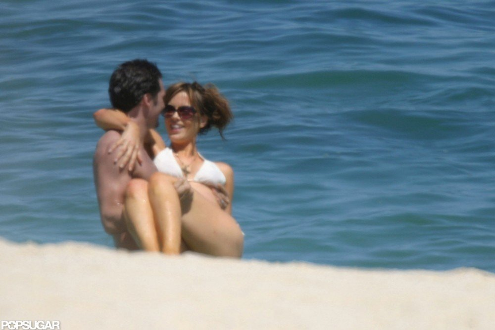 Kate Beckinsale and Len Wiseman were loved up on their May 2004 Cabo honeymoon.
