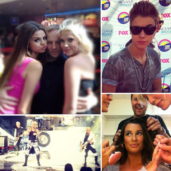 Behind the Scenes at the TCAs With Stars' Social Media Pictures