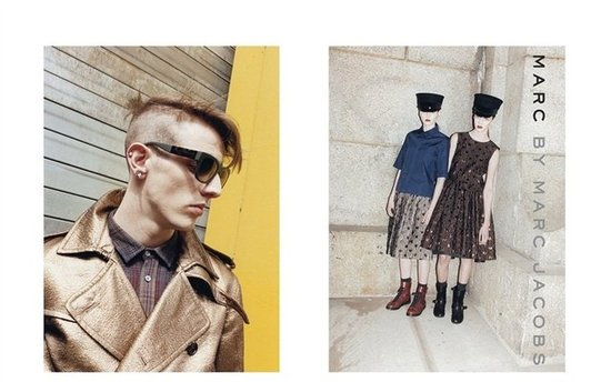 Marc by Marc Jacobs Fall 2012 Ad Campaign