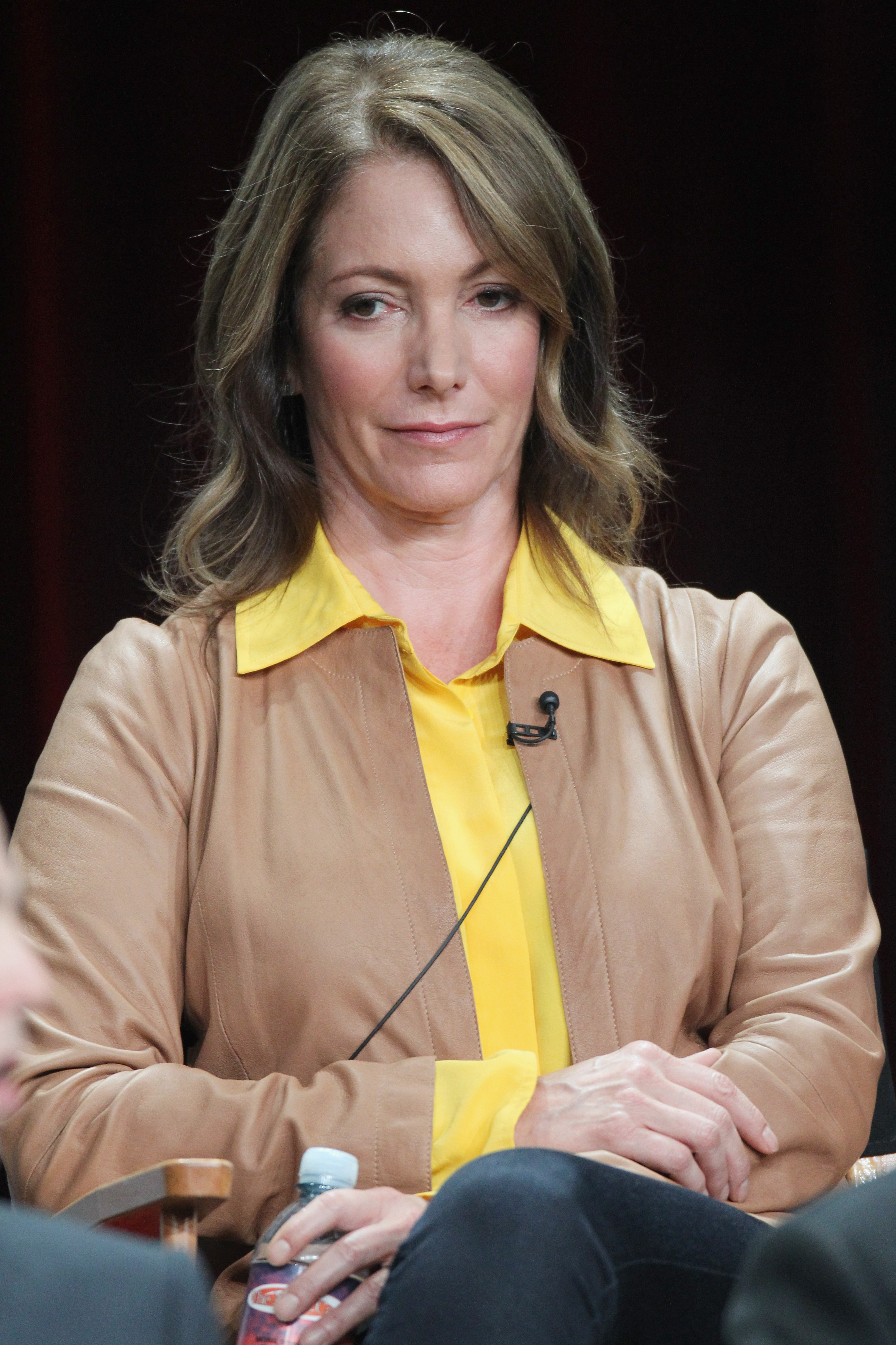 Executive producer Carla Kettner supported the cast of The Mob Doctor during the panel.