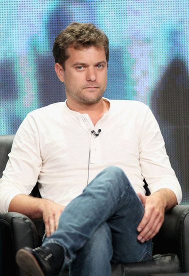 Joshua Jackson wore white at the Summer TCA.
