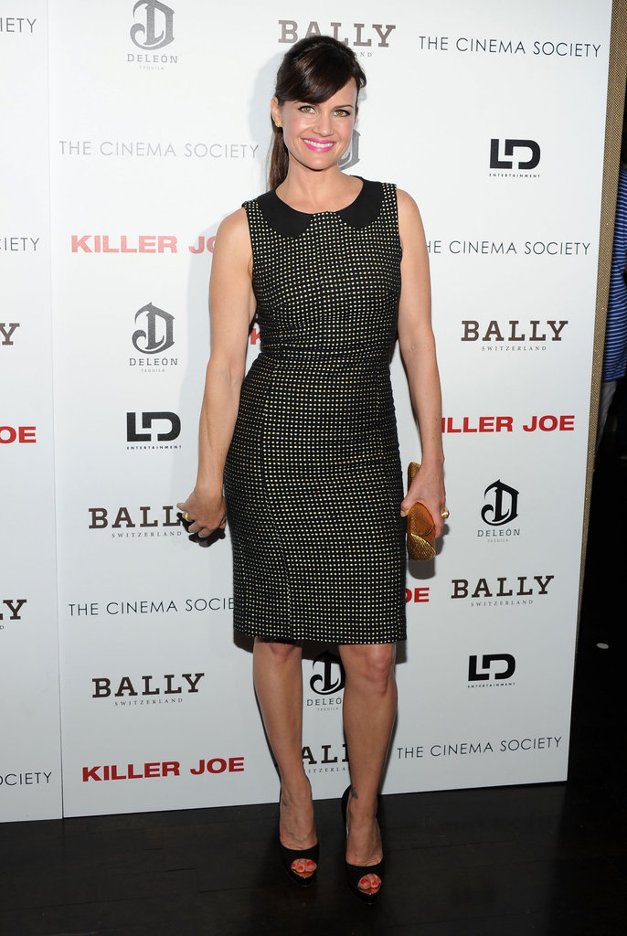 Carla Gugino arrived at a screening of Killer Joe.