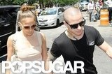 Jennifer Lopez and Casper Smart were together on her birthday in NYC.