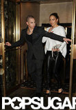 Jennifer Lopez and Casper Smart were dressed up for dinner in NYC.