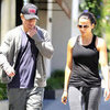 Matt Damon Leaving Pilates Class