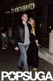 Michael Bublé and Luisana Lopilato strolled through the street in Parioli while vacationing in Rome.