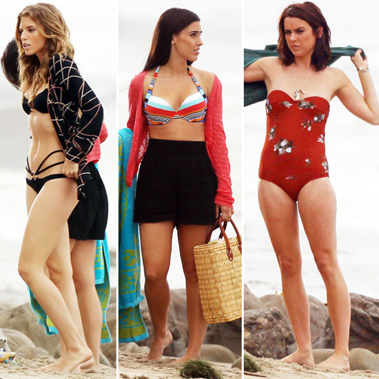 The Girls of 90210 Break Out Their Bikinis