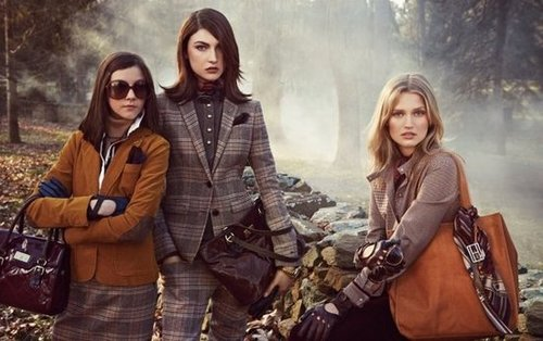 Tommy Hilfiger's Fall campaign captures traditional equestrian elegance.