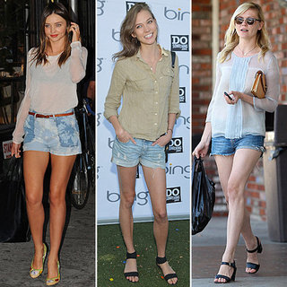 How to Wear Cutoff Shorts