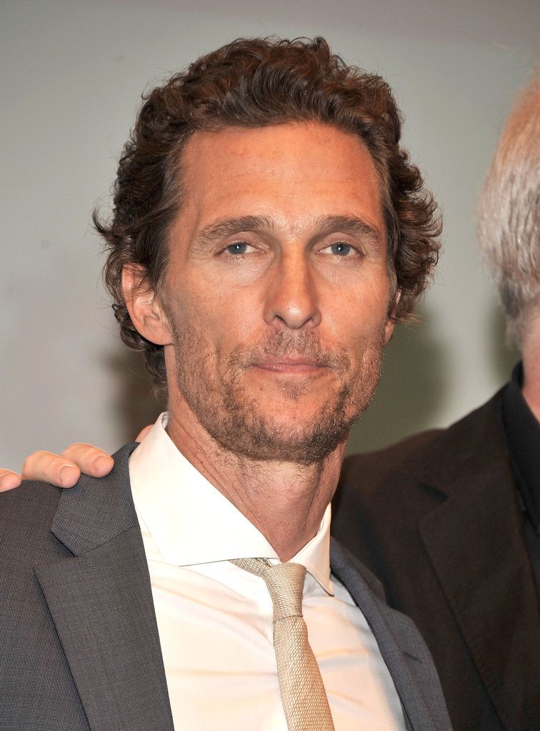 Matthew McConaughey posed at the Killer Joe screening in NYC.