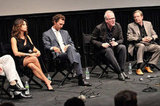 Matthew McConaughey got together with Gina Gershon, Tracy Letts, and William Friedkin onstage at the Killer Joe screening in NYC.
