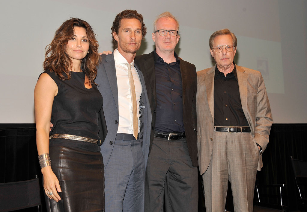 Matthew McConaughey took the stage with Gina Gershon, William Friedkin, and Tracy Letts at the Killer Joe screening in NYC.
